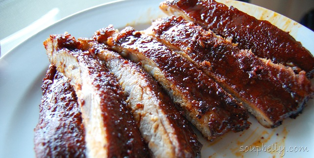 Dry Rub Oven Baked Pork Ribs