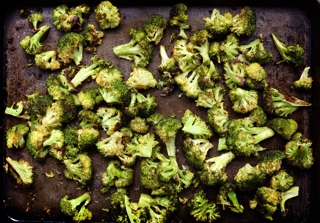Ridiculously Easy Roasted Broccoli