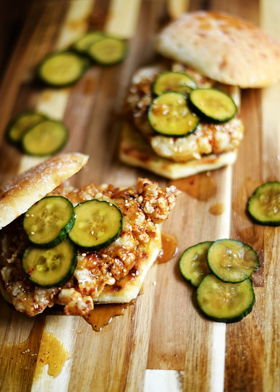 korean fried chicken sandwiches 3