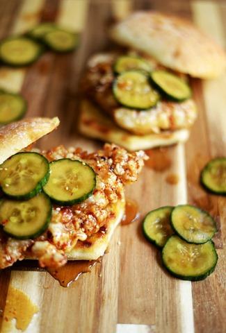 korean fried chicken sandwiches 1
