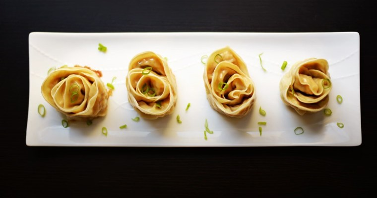 Rose Shaped Gyoza