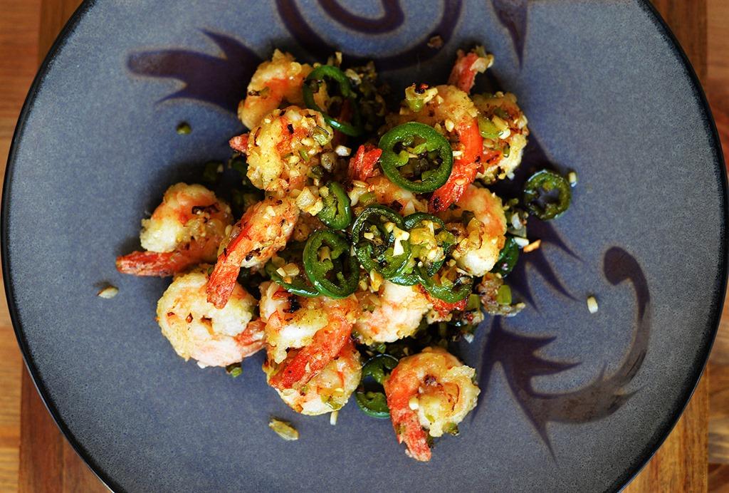Cantonese Salt and Pepper Shrimp