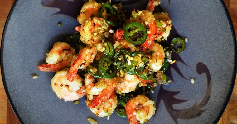 Cantonese Salt and Pepper Shrimp