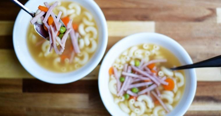 HK Style Macaroni Soup