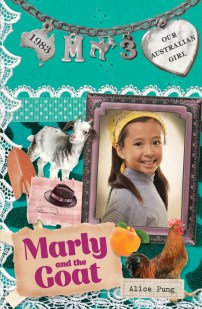 Matilda recommends MARLY AND THE GOAT by Alice Pung, ill. Lucia Masciullo.