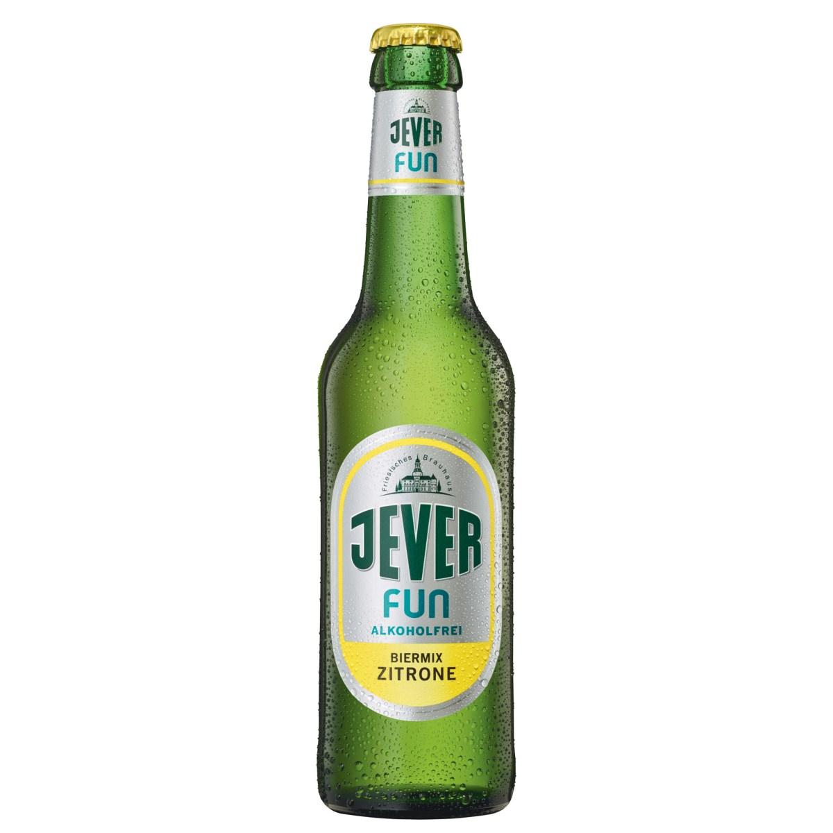 Jever Fun Zitrone alkoholfrei 0,33l