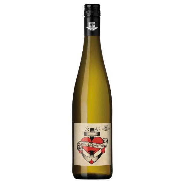 Nett Glaube Liebe Hoffnung Weisswein 0,75l