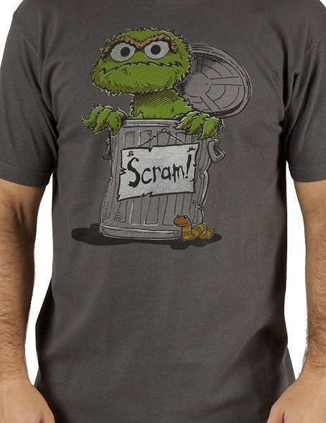 Oscar The Grouch Tee