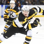 Lawson Crouse of the Kingston Frontenacs. Photo by Aaron Bell/OHL Images