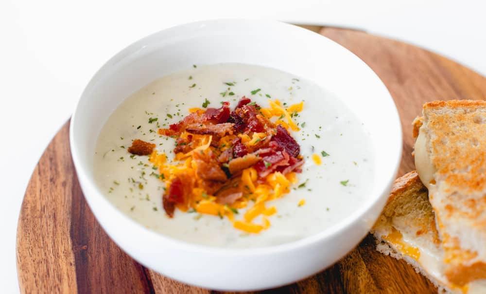 Copycat Rafferty's Potato Soup Hero