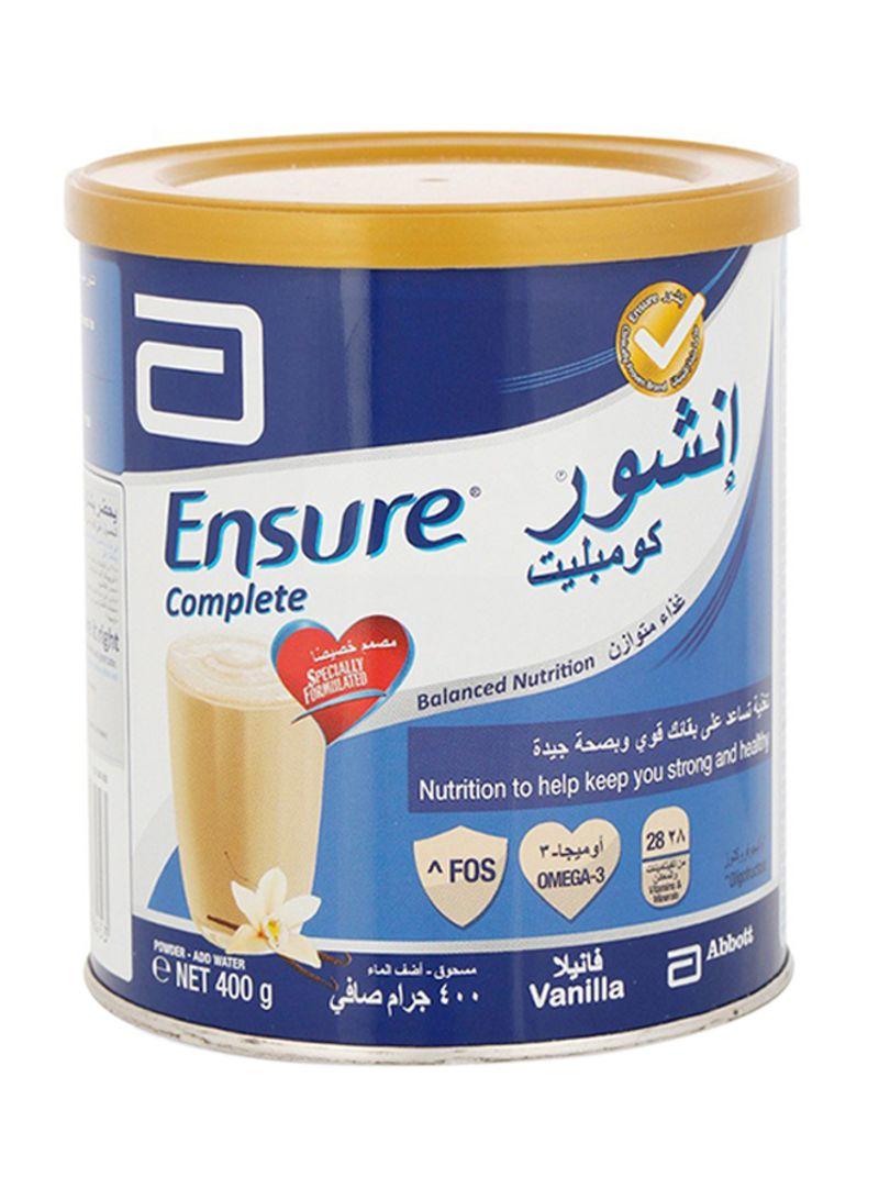 حليب انشور Ensure مكمل غذائي غني بالبروتينات والسعرات الحرارية سوق الدواء