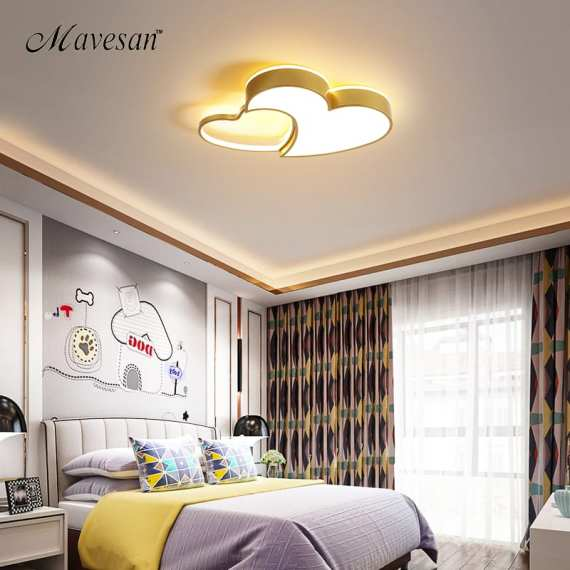 2020 New Hot selling LED Ceiling Lights For Kids Room Home Lighting lamparas de techo for study room lampara dormitorio