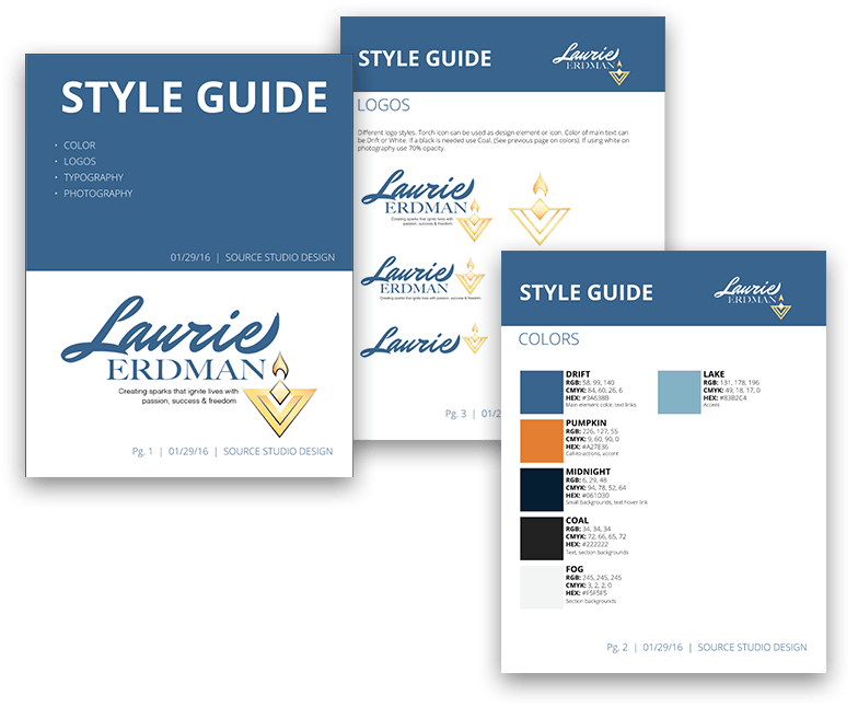 Laurie Erdman style guide