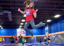 Platt says Sky Zone employees are constantly creating fresh and exciting offerings for the public. Among the many offerings are SkyMania — teen party nights — as well as children's birthday parties. (Courtesy Photo)