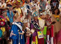This year's Pow Wow had nearly 5,000 attendees. (Joe Angeles)