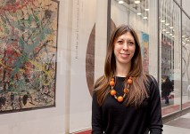 Hannah Solomon, AB '05, is an associate specialist in the Antiquities department at Christie's. (Photo: Jennifer Weisbord, BFA '92)