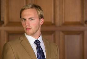 Scott Greenberg as Macduff. (Photo: Joe Angeles/Washington University)