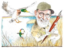 """Jack the Duck Hunter"" by Joe Ciardiello."