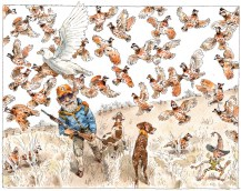 """Jack the Quail Hunter"" by John Cuneo."