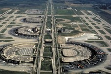 Dallas/Fort Worth International Airport. (Photo: George Silk, courtesy of HOK)