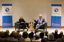 Marie Griffith and John Danforth talk