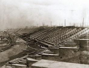 The Olympic Stadium under construction. (Photo: Courtesy of Missouri Historical Society)