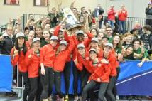 Womens indoor track win 2017 championshi