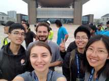 Team WashU arrives in Dezhou.