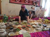 Raymond was impressed by both the generosity and hospitality of the Tajik people.