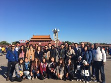 Scholars and administrators had the chance to take in the sights of Beijing during the symposium.