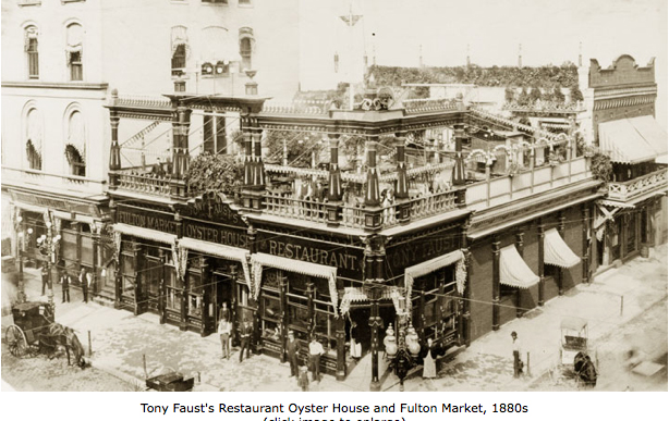 Tony Faust's (Courtesy of Lost Tables)