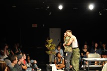 "Claire Kozak and Danny Teich in ""Houseplant"" by Hannah Dains, directed by Ellen Fields."
