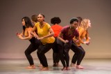 """""""'UnPartnered Dance' examines how communities fall apart,"""" said Joanna Dee Das, assistant professor of dance. The piece is inspired by Jane Dudley's iconic """"Harmonica Breakdown"""" (1938), which explored the lives of Dust Bowl sharecroppers. To create it, Dee Das enlisted the aid of dramaturg Betsy Brandt, whose """"thoughtful questions and comments helped the piece find a coherent vision."""""""
