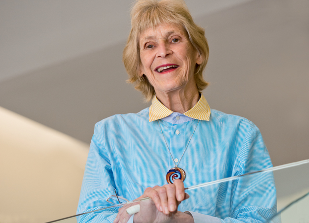 """Kate Murashige, AB '56, has been called the """"mother superior"""" of biotech patent law. A senior partner in the San Diego office of the law firm Morrison & Foerster, Murashige holds a doctorate in organic chemistry as well as a juris doctorate. (Andy Hayt)"""