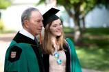 Commencement speaker Michael Bloomberg