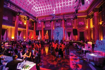 Washington University Young Alumni Gala event at Capitale Event Space on the Bowery in New York City. (Photo: Jennifer Weisbord, BFA '92)