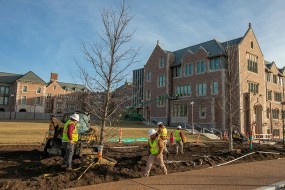 McKelvey Hall construction
