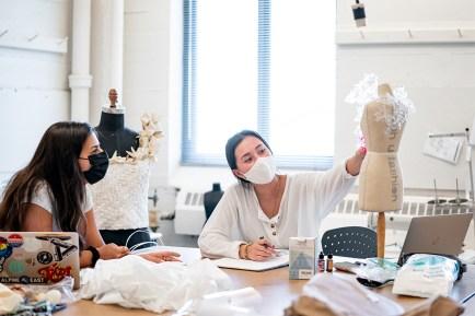fashion design students