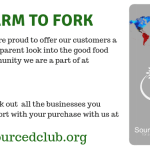 We are proud to offer our customers a transparent look into the good food community we are a part of at