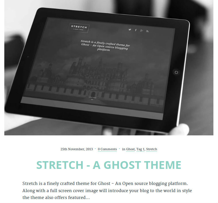 Ghost Blog Templates  how to write better and faster using