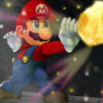 It's Mario's forward smash, Fire Glove!