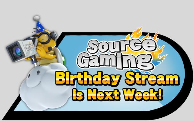 Birthday Stream announcement