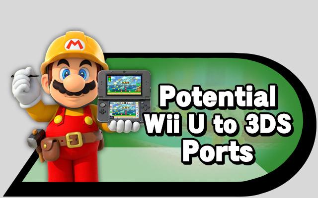 Wii U to 3DS