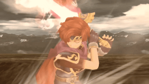 Roy using Flare Blade in Project M