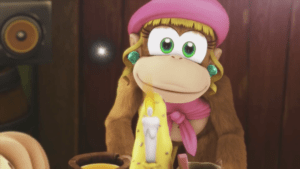 Dixie Kong in Donkey Kong Country: Tropical Freeze