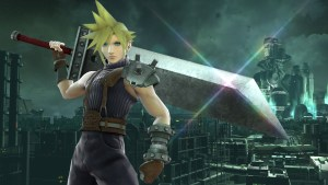 Cloud on Midgar in Super Smash Bros. for Wii U