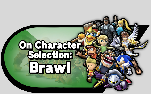 Character selection