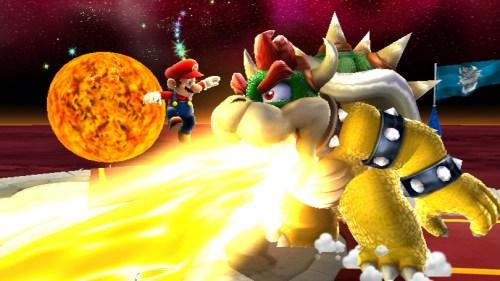 Mario vs. Bowser in Super Mario Galaxy