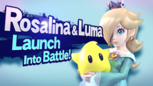 Rosalina and Luma in Super Smash Bros. for Wii U and Nintendo 3DS