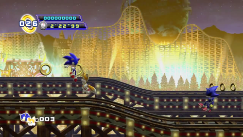 Sonic & Tails vs. Metal Sonic at White Park Zone